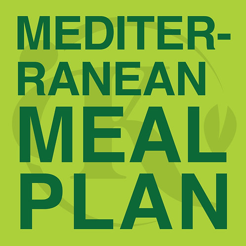 Meal Plan - Mediterranean for Weight Loss