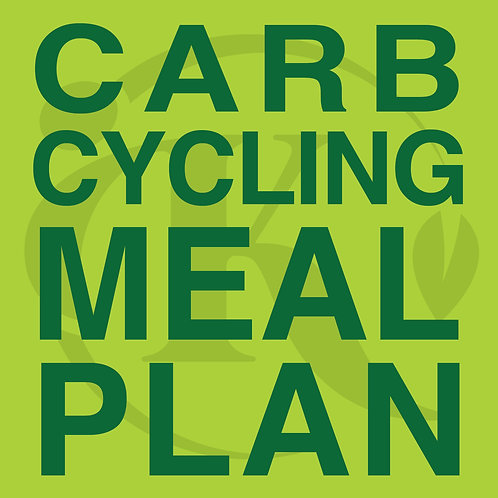 Meal Plan - Carb Cycling