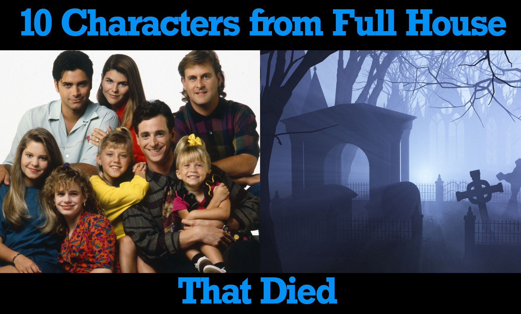 10 Characters from Full House