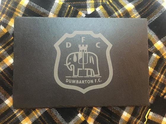 Dumbarton FC Slate Placemat/Cheeseboard