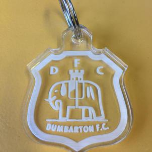 Dumbarton FC Keyrings