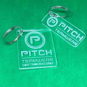 Pitch Teamwear Keyrings