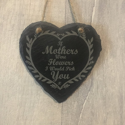 Mothers Day Slate Hanging Sign