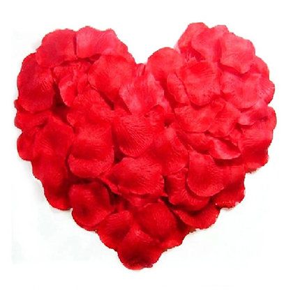 500pcs Artificial Silk Red Rose Petals