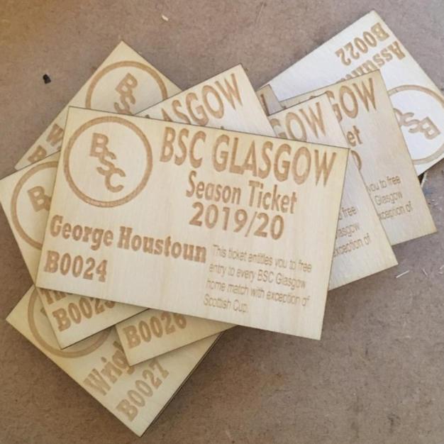 BSC Glasgow Season Ticket