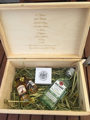 Luxury custom-made keepsake gift memory box for all occasions