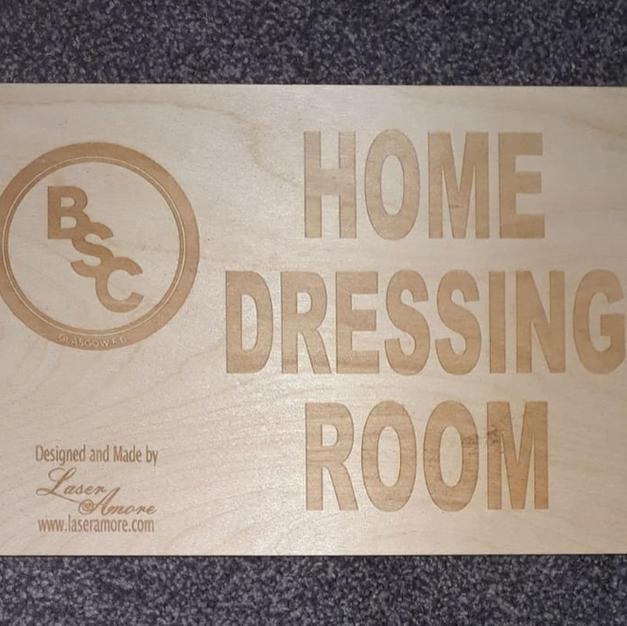 BSC Glasgow Signage