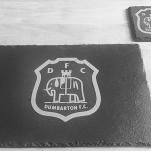 Dumbarton FC Dinner Set