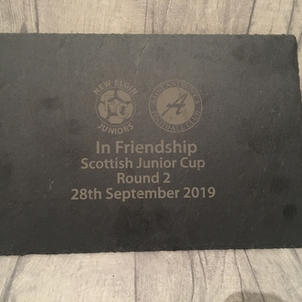 St Anthony FC Scottish Cup Pennant