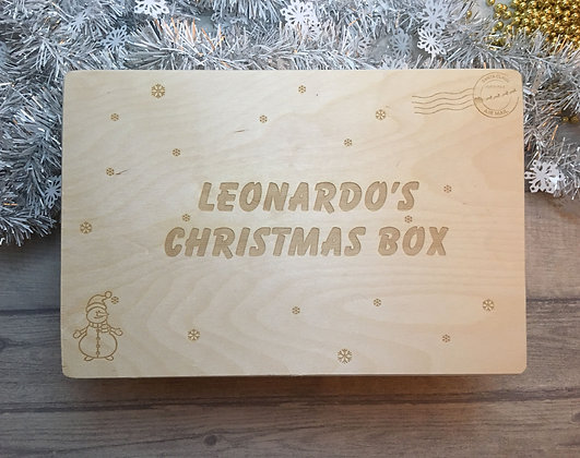 Personalised Christmas Eve Box For Kids - Christmas Treat Box