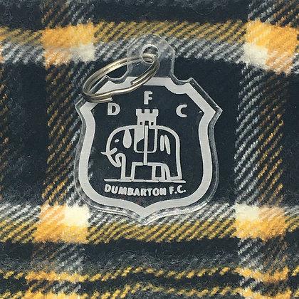 Dumbarton FC Acrylic Keyring