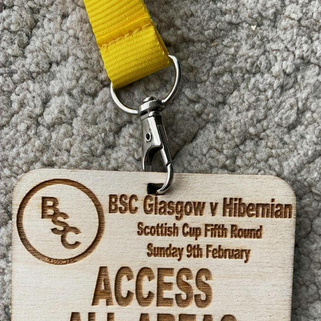 BSC Glasgow Matchday Passes