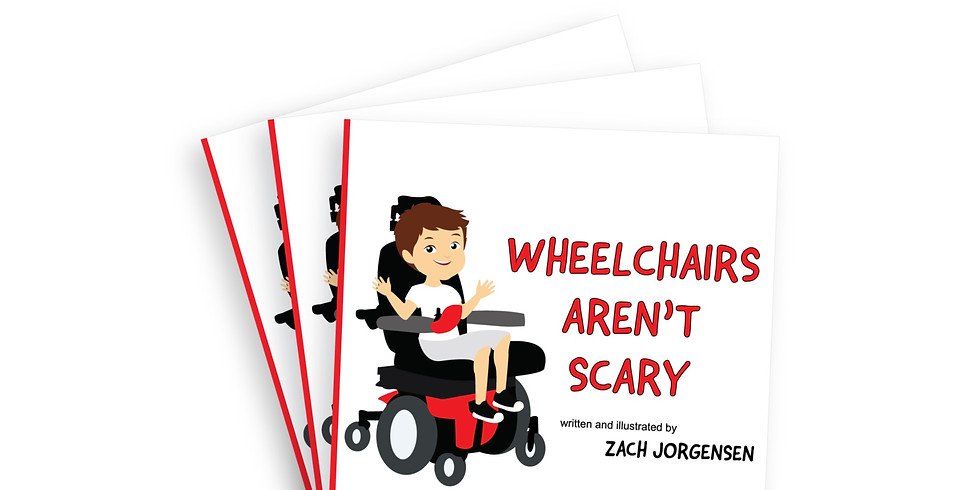 Wheelchairs Aren't Scary Release Party