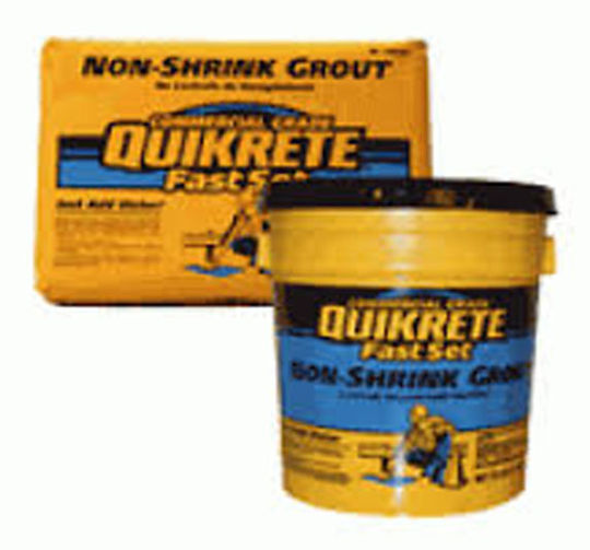 FAST SET NON SHRINK GROUT