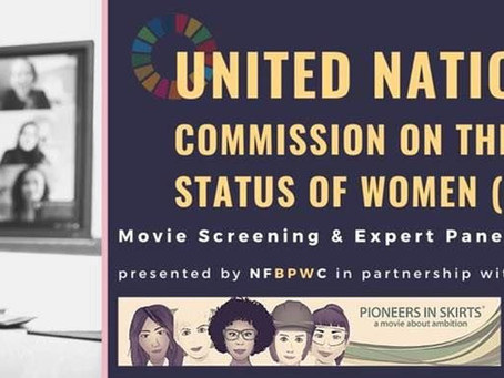 The National Federation of Business & Professional Women Holds Parallel Event at the United Nations