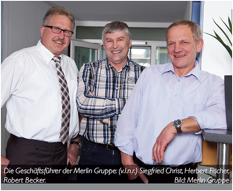 GPS Tracker & Fahrtenbuch PILOT von Roseberger Telematics für die Merlin Gruppe