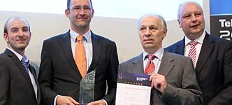 CEplus gewinnt Telematik-Award 2012