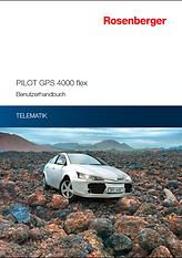 Rosenberger Telematics für Pkw Flotte - GPS Tracking PILOT GPS 4000 flex