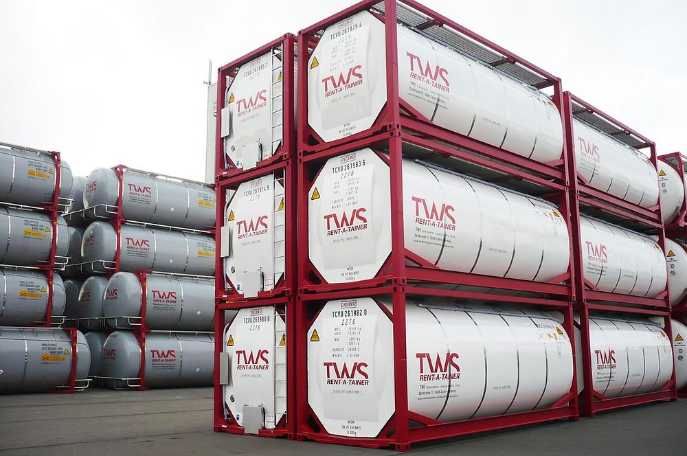 Über 5000 Container verantwortet die TWS GmbH