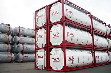 GPS Containertracking & Containerortung mit Rosenberger Telematics bei der TWS GmbH - für Container und Tankcontainer