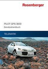 Rosenberger Telematics für Pkw Flotte - GPS Tracking PILOT GPS 3600