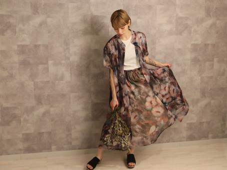 2020SS FLOWER LongSirt&Skirt