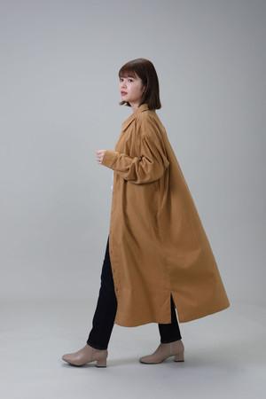 Light Corduroy Long Shirt