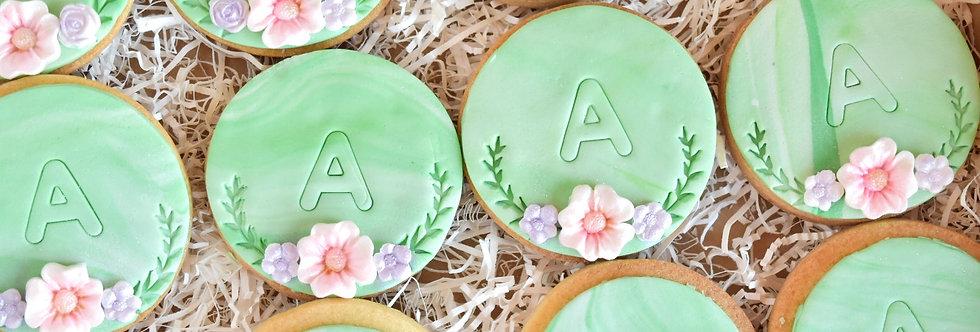 Floral Stamp Cookies