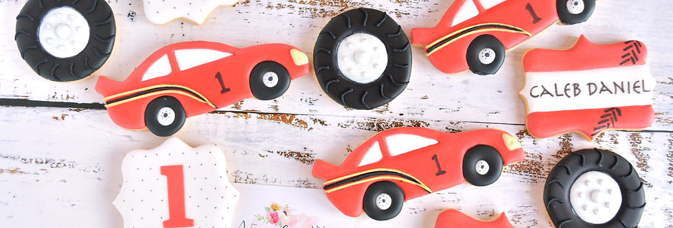 Racing Car Birthday Set