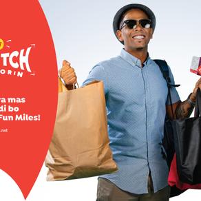 Fun Miles ta lanza campaña 'Stretch bo florin' na Aruba