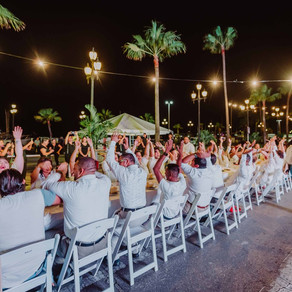 Renaissance Aruba presented a successful and enchanting second edition of 'Long Table'