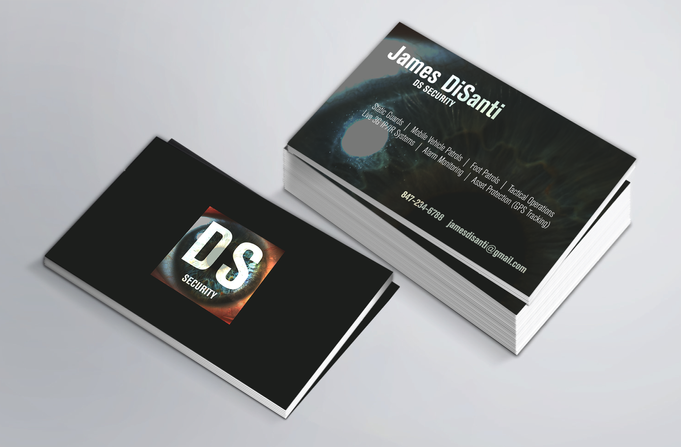 DS Security business card
