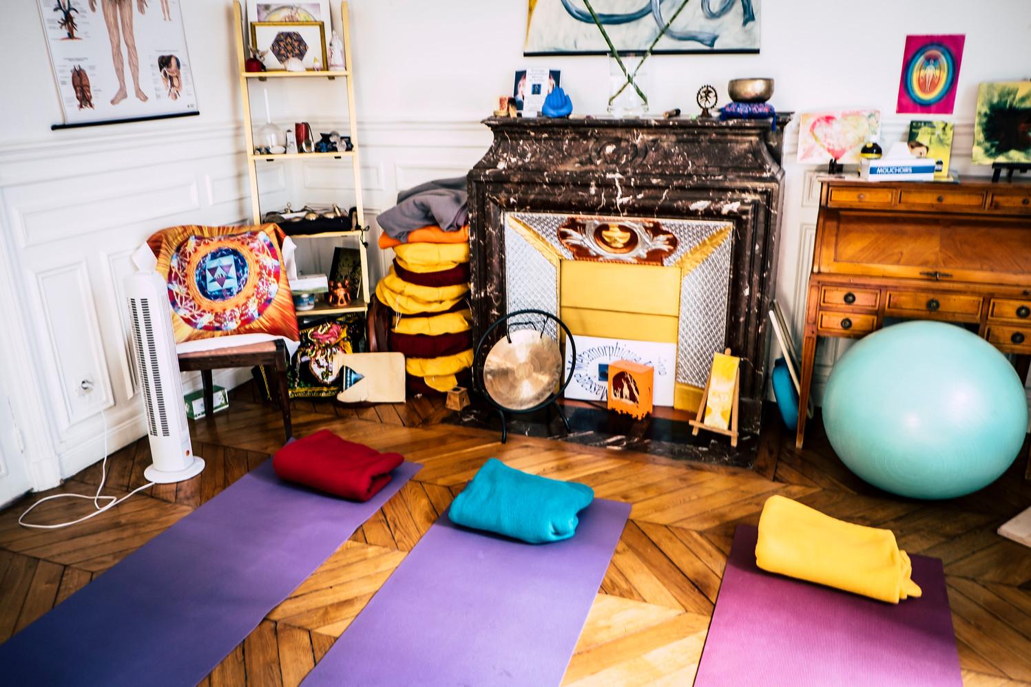 Salle simple - méditation