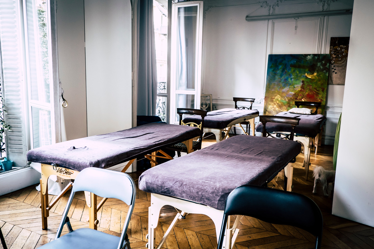 Salle Double Formation Massage