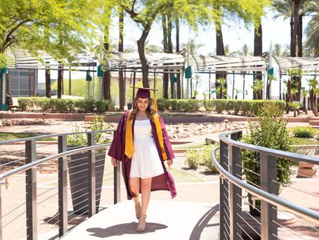 Eva's Senior Portraits at Downtown Phoenix