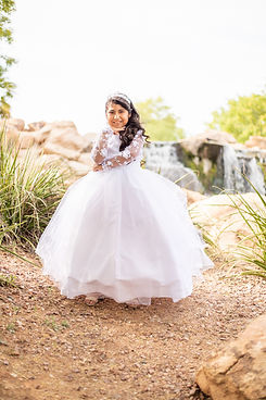 First Communion Photography - Destiny's