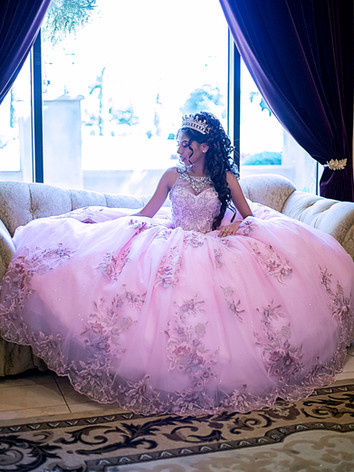 aliah quinceanera photography at ashley
