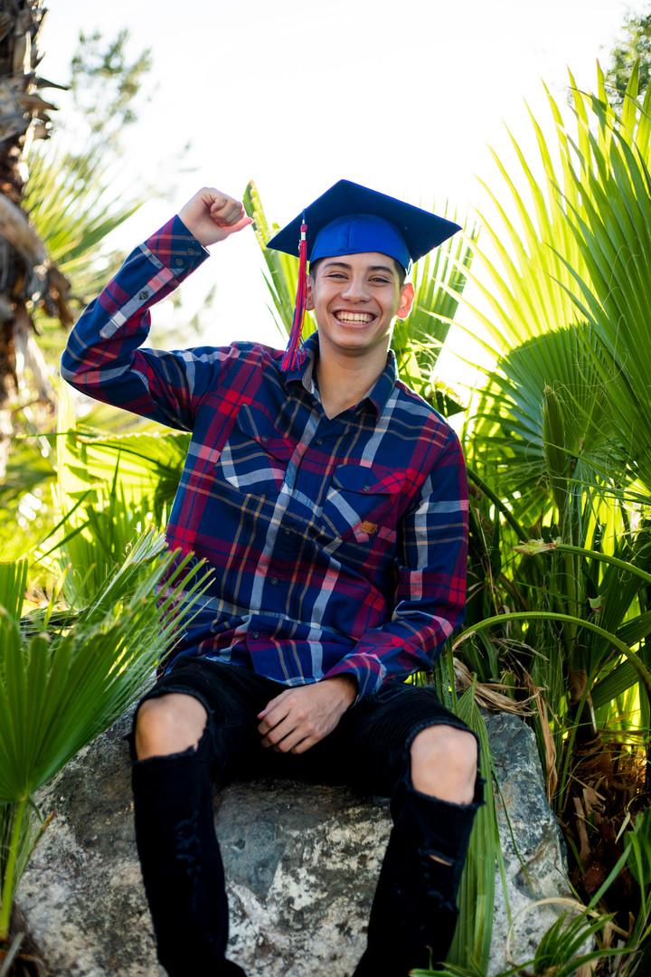 graduation portraits  - Encanto Park in