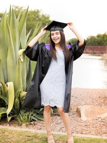 Graduation Photography - Sabrina - Anthe