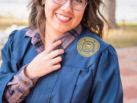 Elizabeth's Senior Portraits at NAU in Flagstaff