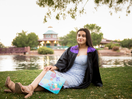 Sabrina's Senior Portraits at Anthem Community Park