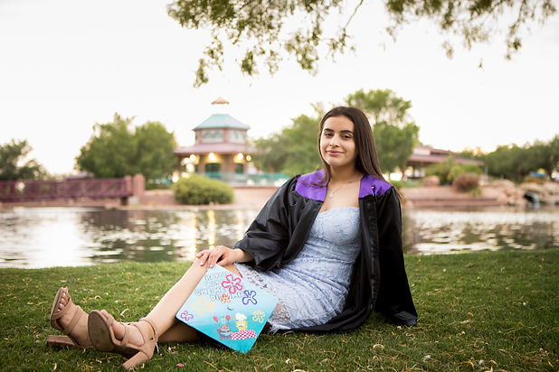 Graduation Photography - Sabrina - Anthe