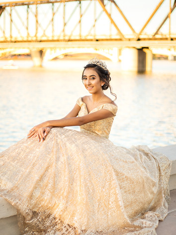 annette quinceanera photos at tempe beac