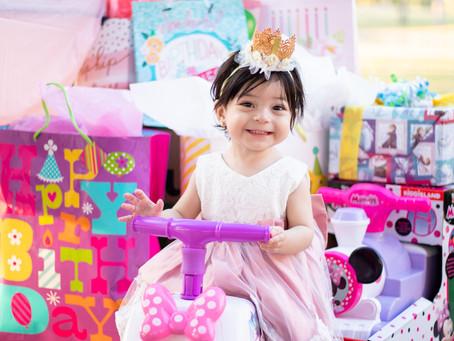 Tatiana's First Birthday Party Photos