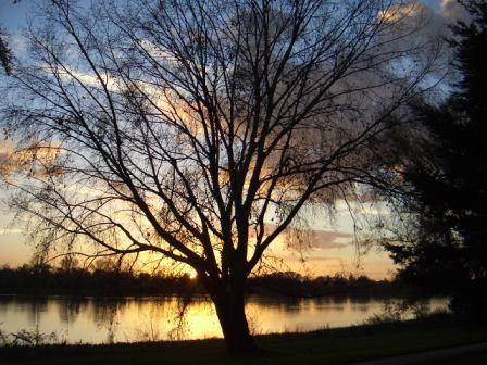 coucher soleil loire