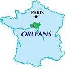 Orléans, Le Loiret, Région centre