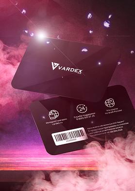 Vardex club card