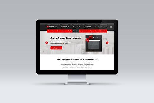 Renart mebel дизайн сайта