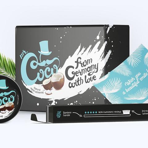 Дизайн упаковок Mr Coco