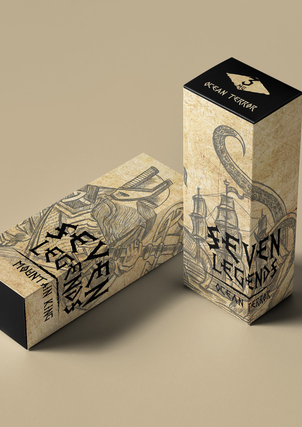 Дизайн серии жидкостей для парения от Vardex